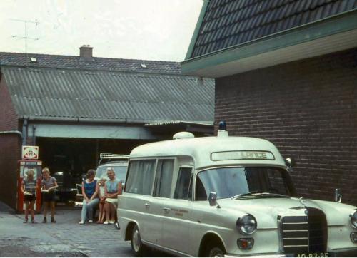 De eerste Mercedes Ambulance, jaren 60