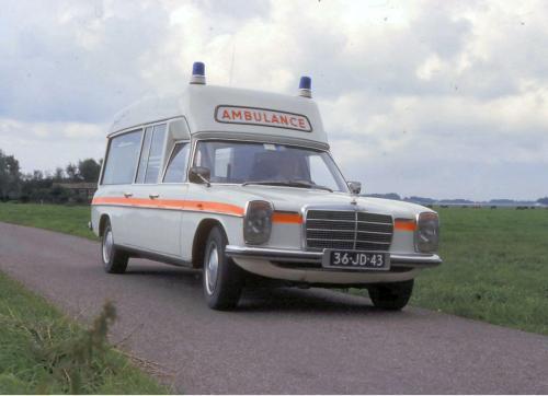 De 2e Mercedes Ambulance, jaren 70