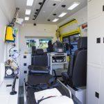 Interieur nieuwe ambulances